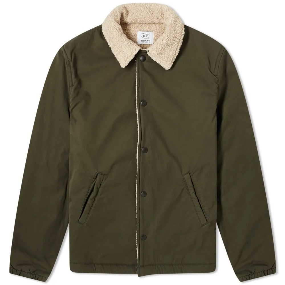 veste doublée save khaki