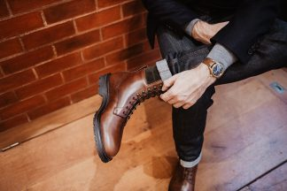 Boots Crockett & Jones Ross essayage revers