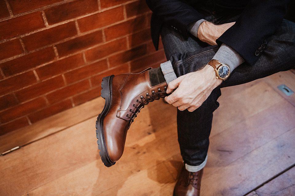 chaussures bottines homme qualité moins de 150