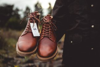 Boots Moustache Paire Etiquette