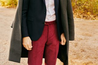 Pantalon velours hommes ou bêtes
