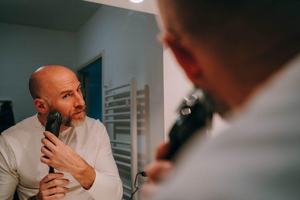 tondeuse panasonic ER-SC40-K test barbe pattes