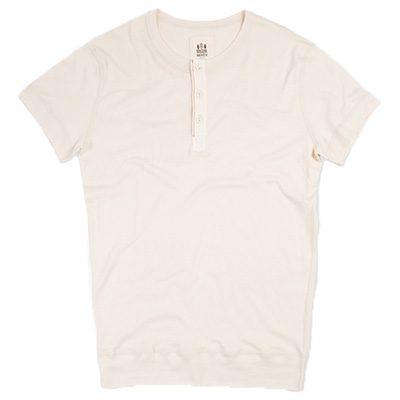 t-shirt henley luzien hemen en coton biologique
