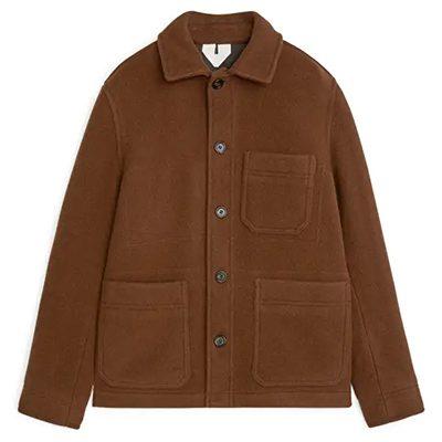 veste de travail en laine arket