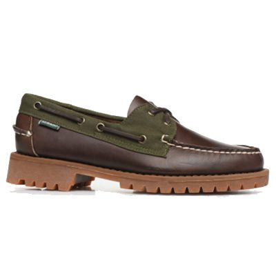 chaussures bateau sebago Portland Lug Millerain C