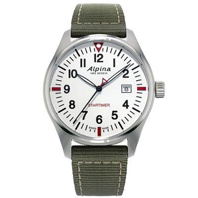 montre alpina startimer pilot quartz