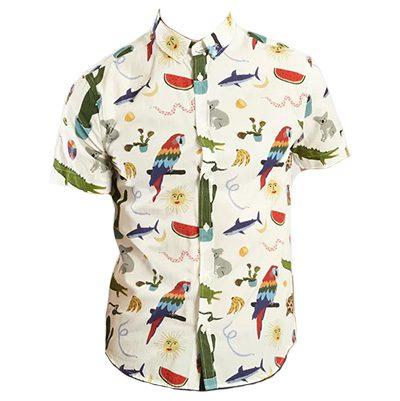 chemisette olow croco