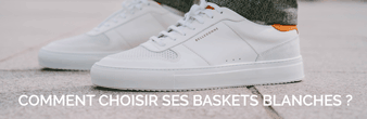 Encart baskets blanches