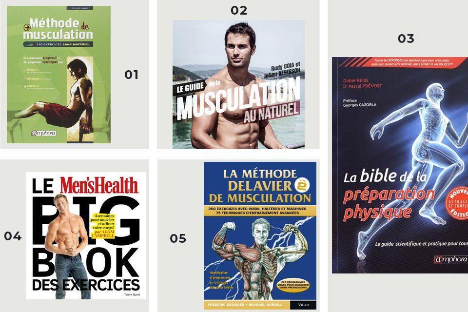 selection livres musculation 2020