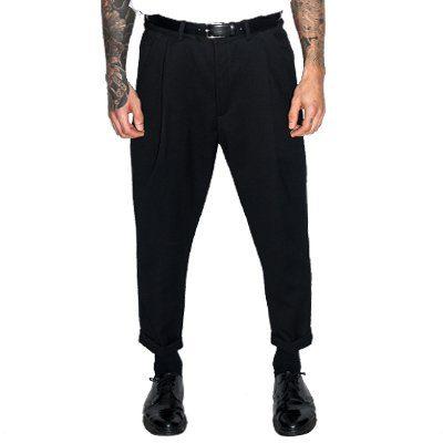 Pantalon laine Over-Size Mondame