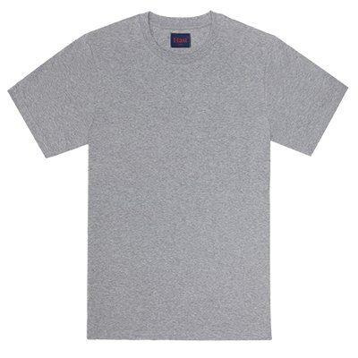 T-shirt en coton biologique gris Hast