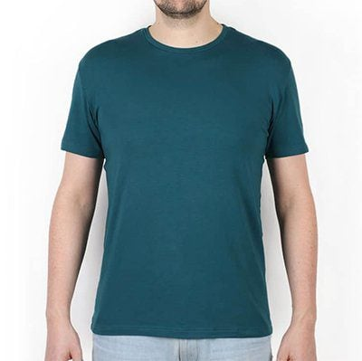 T-shirt Pétrone bleu pétrole