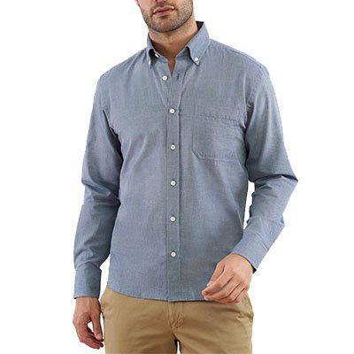 chemise en chambray en coton biologique Lautrec