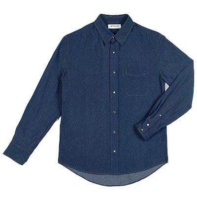 chemise en denim japonais the initialist