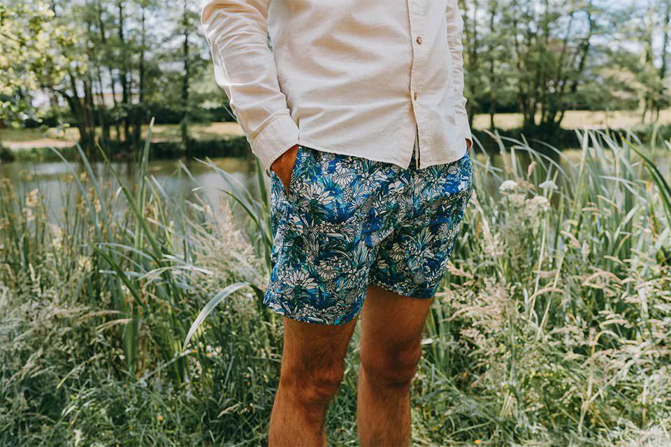 Short Bain Imprimé Homme