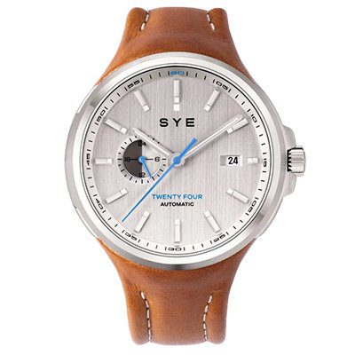 Montre SYE MOT1ON Automatic 24 Silver edition