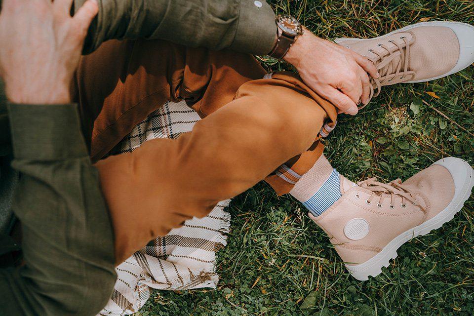 Parc des gayeulles boots palladium pampa