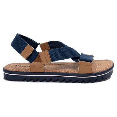 sandales nova straps navy armistice