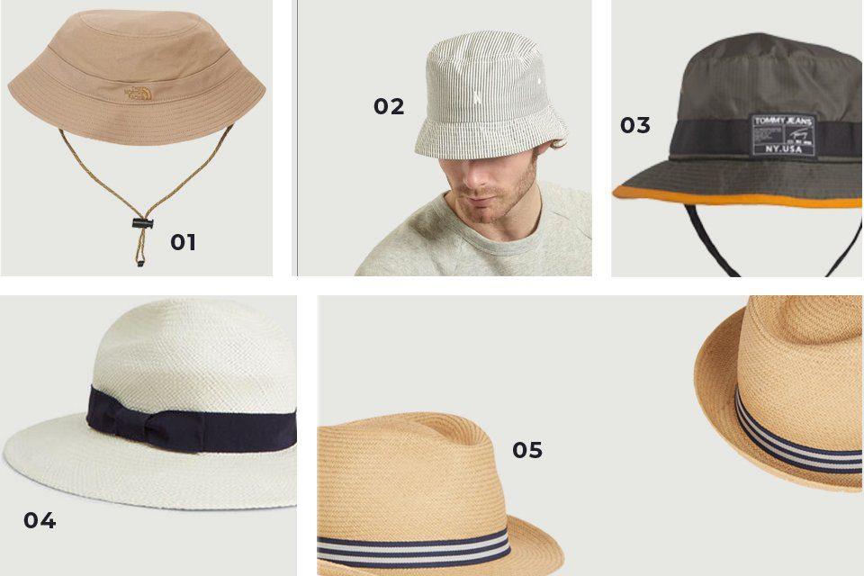 chapeaux homme soldes SS20