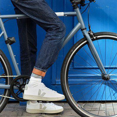 bande de chevilles en cuir pour cycliste brooks england