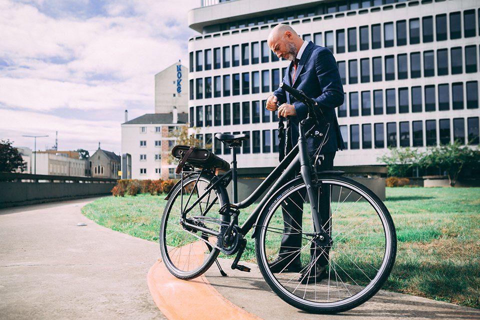 comment aller au travail à vélo