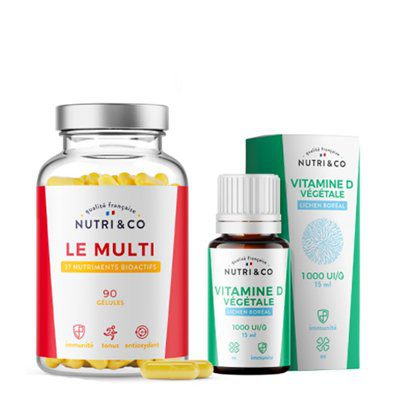pack vitaminé nutri&co