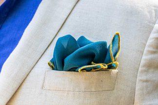 Pochette Costume Bleu