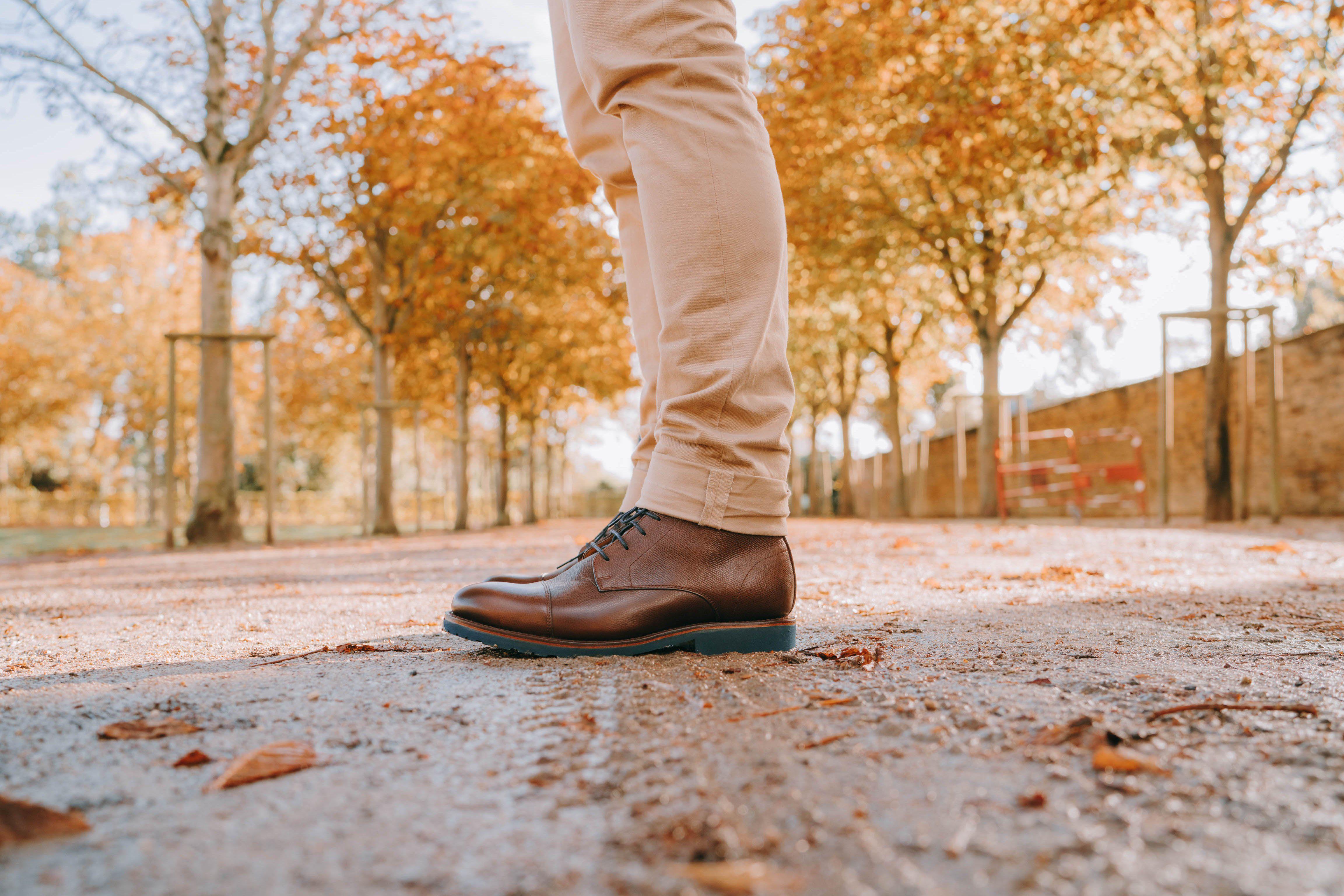 Boots hardrige hector essayage profil