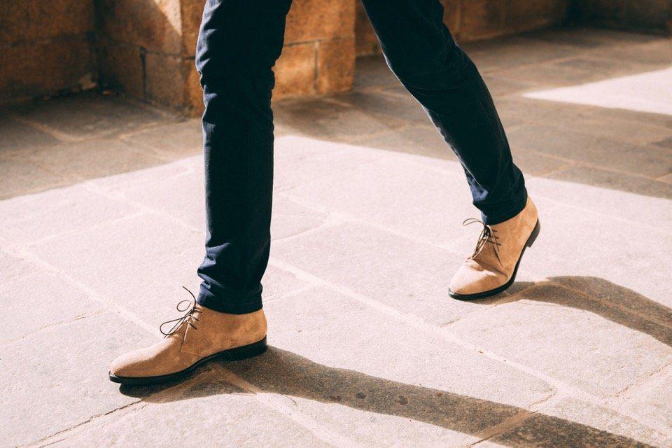 Chukka boots ypsons look max - 1
