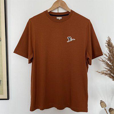 t-shirt patch brodé cigogne Zonaym