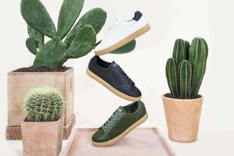clae basket cuir cactus