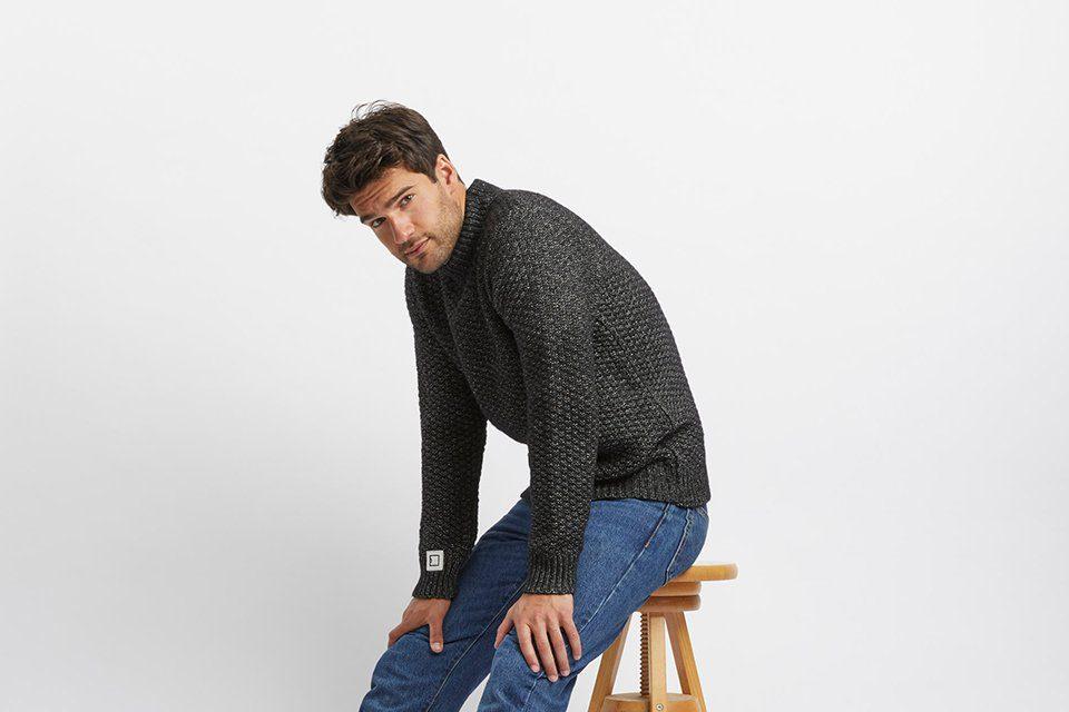 tricots jean marc avedis noir paysage