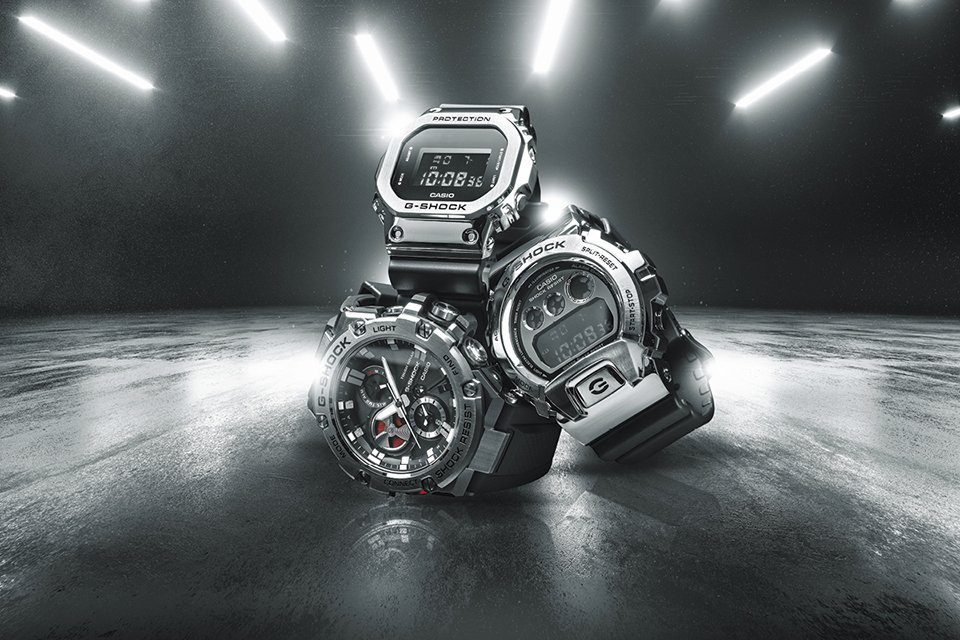 G shock Metal Series ensemble