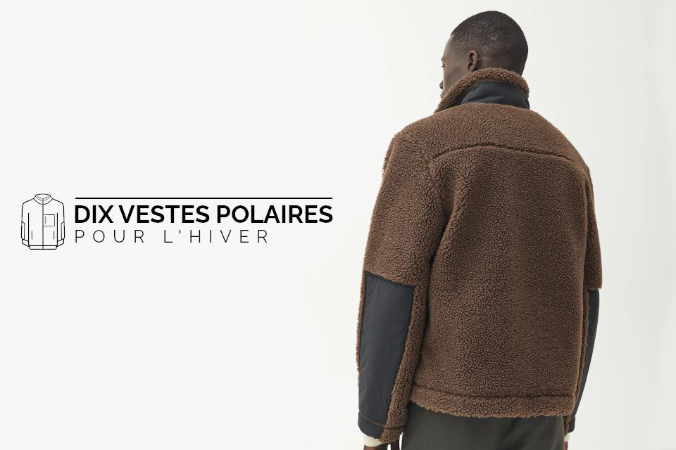 10 polaires homme