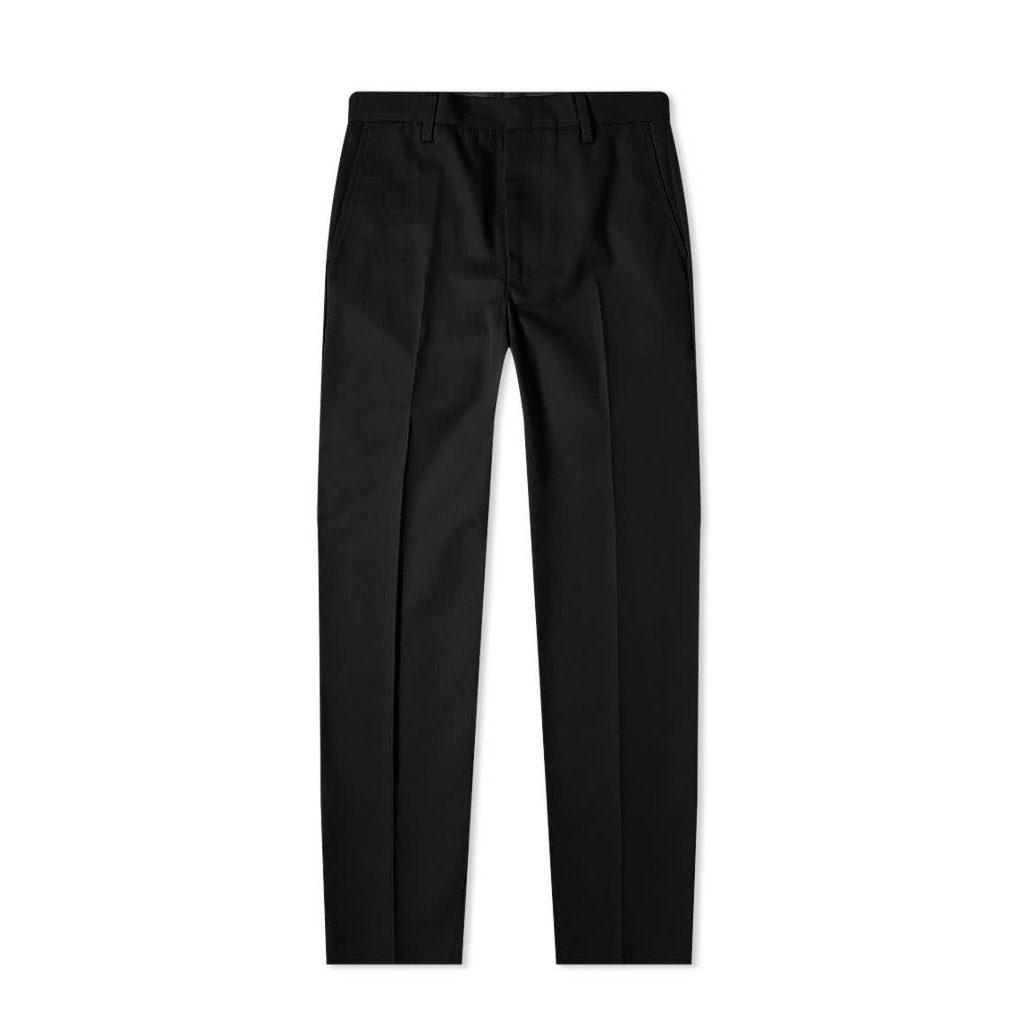 pantalon noir à pinces acne studios