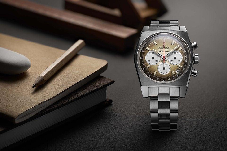 Zenith Chronomaster Revival A385 bracelet acier