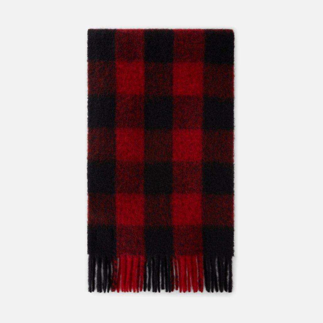 écharpe rouge et noire ami paris