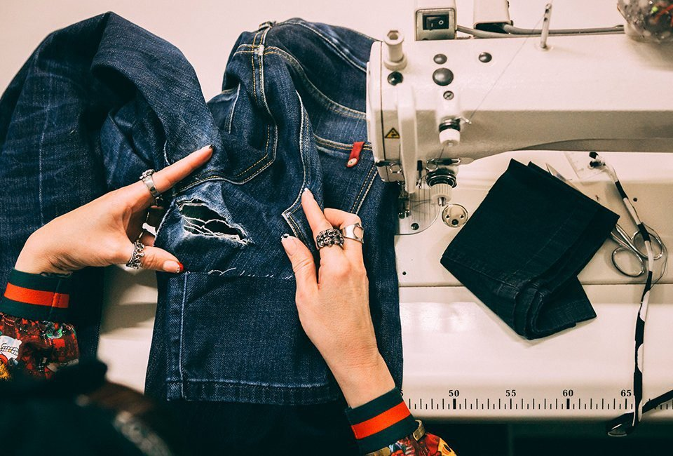 retouches rennes jeans