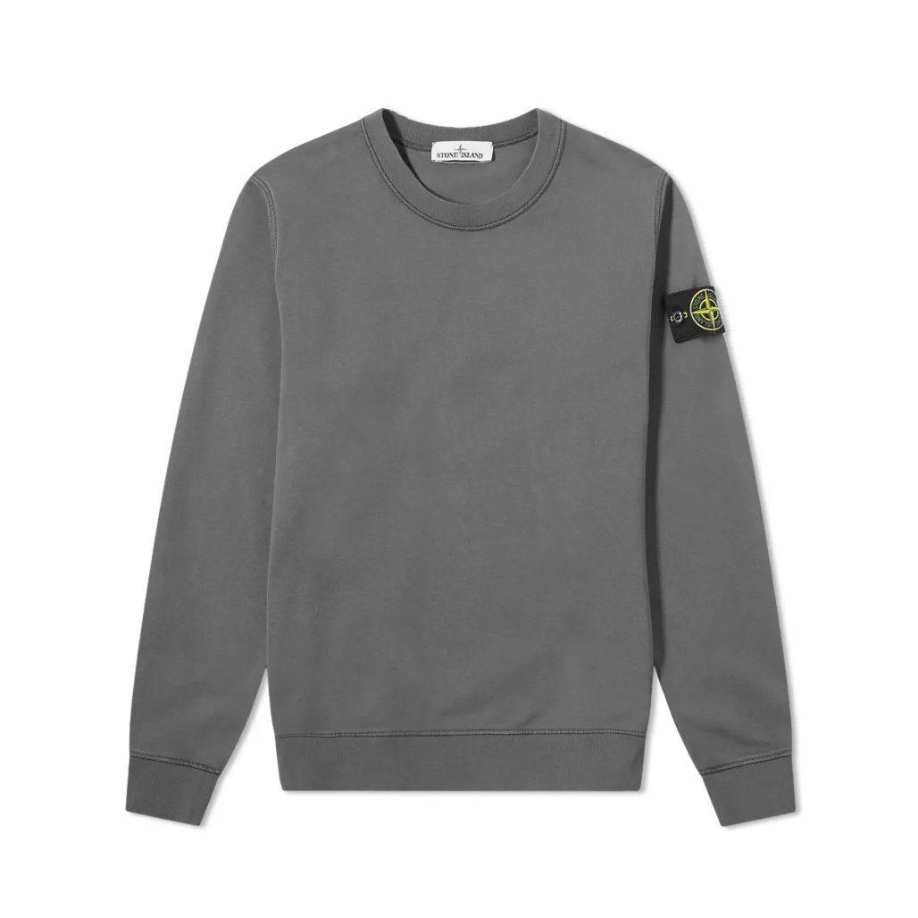 sweatshirt Stone Island gris