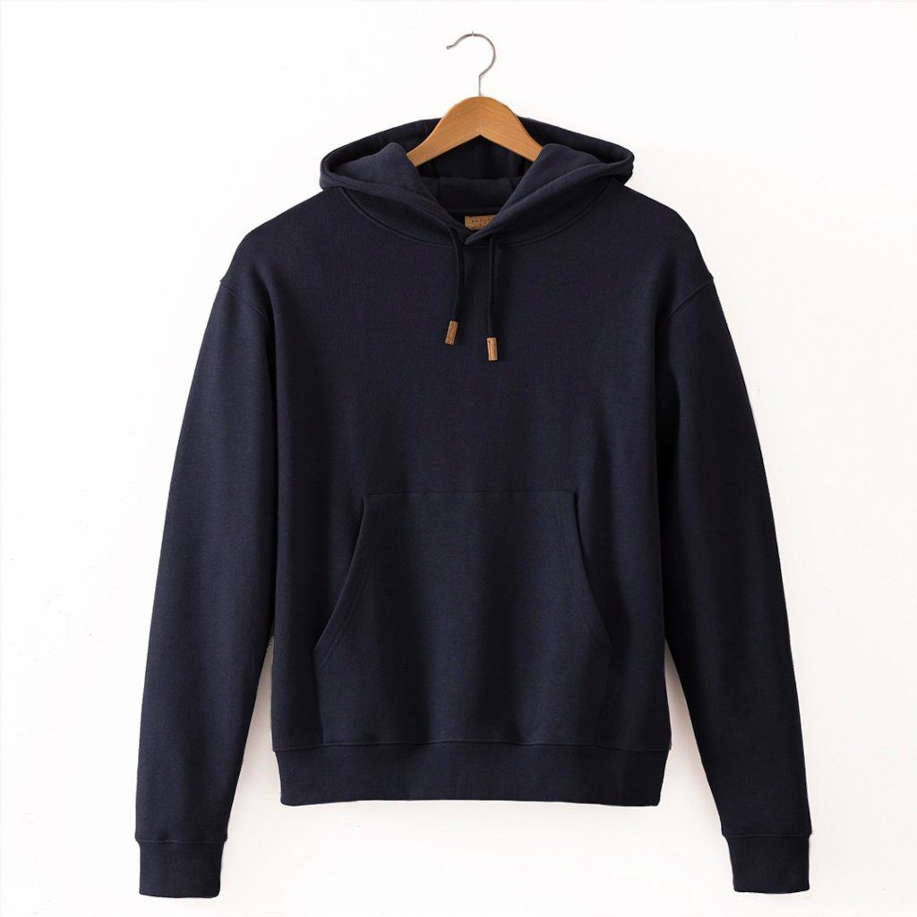 hoodie basus bleu marine