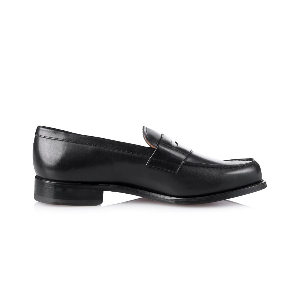mocassins shoepassion en cuir noir