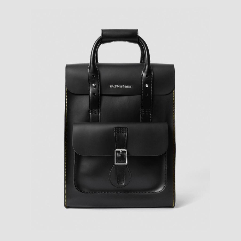 sac à dos dr martens cuir noir