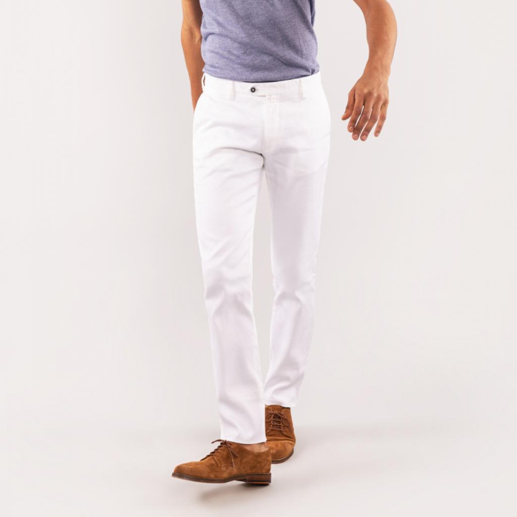 pantalon blanc lepantalon
