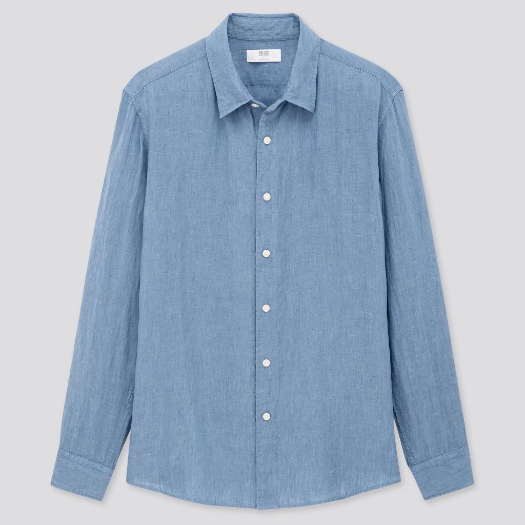 chemise uniqlo en lin