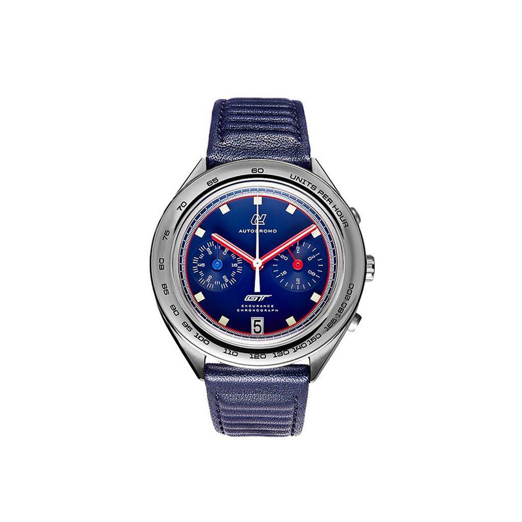 montre autodromo ford gt endurance chronograph le mans blue