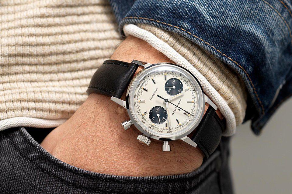 montre hamilton intra matic chronograph h portee
