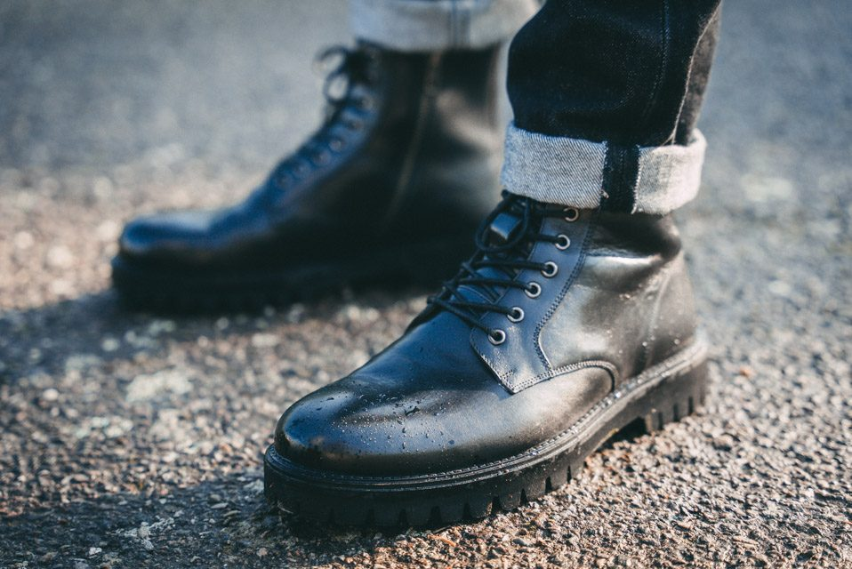 combat Boots bocage style homme