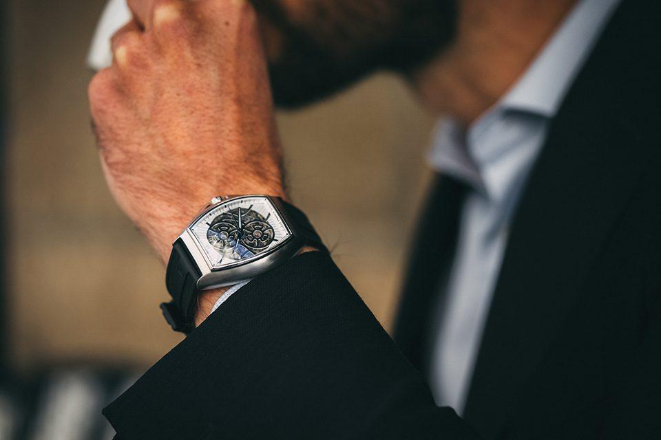 Yonger & Bresson Le Singulier wristshot